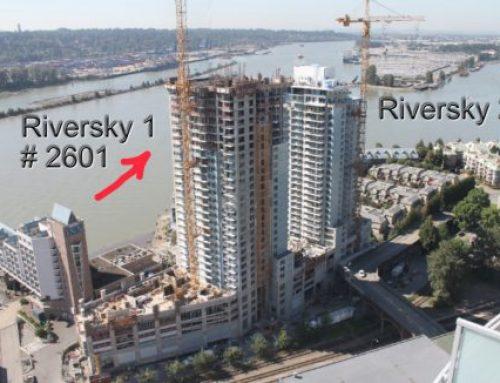 房地產樓花轉讓新西敏RIVERSKY 1 BOSA – 2601 1000 QUAYSIDE新西敏