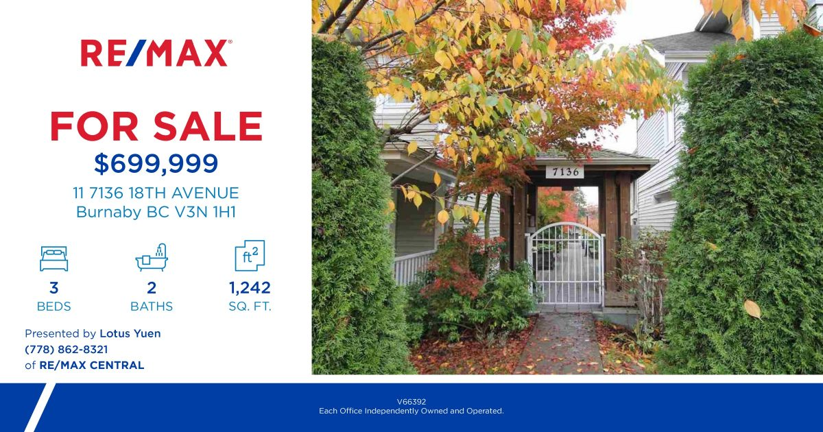 11_7136_18TH_AVENUE Burnaby Townhouse for Sale