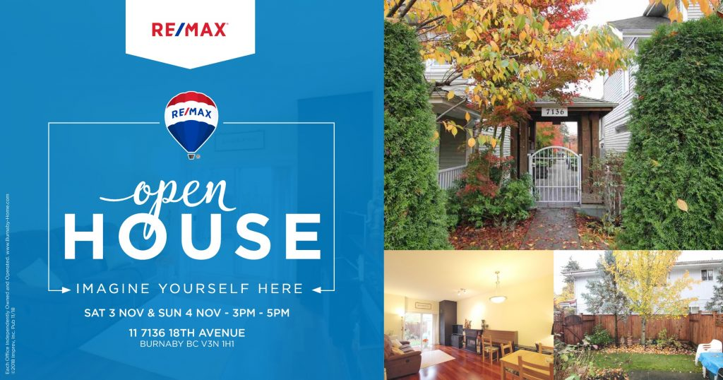 Open House 11_7136_18TH_AVENUE Burnaby