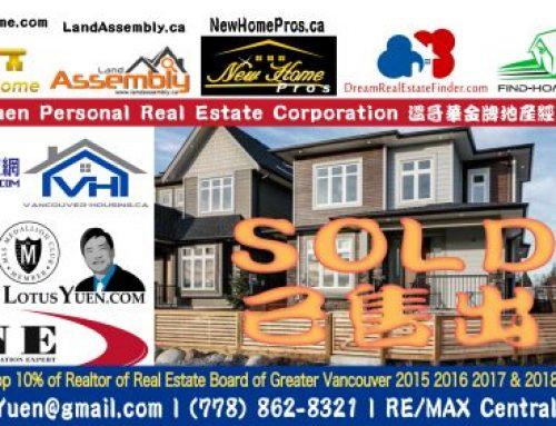 已售出 新獨立式住宅 5591 SHINDE St. Richmond