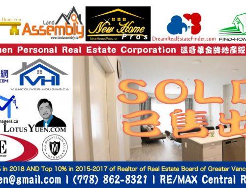 已經出售公寓 –  308 6283 KINGSWAY,Burnaby公寓出售