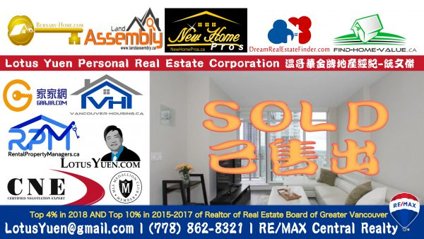 SOLD - 3405 2008 ROSSER AVE Burnaby