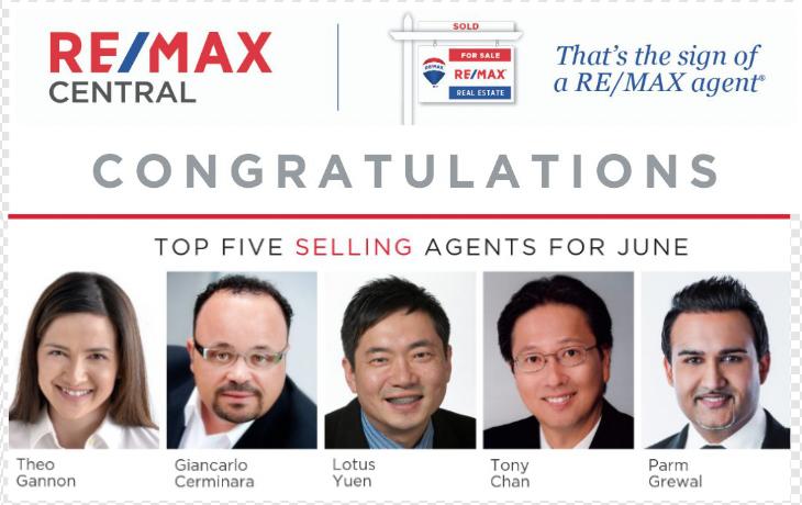 前5名REMAX房地產經紀人