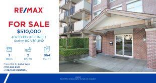 新上市: 北素里公寓出售 - 402 10088 148 STREET Surrey