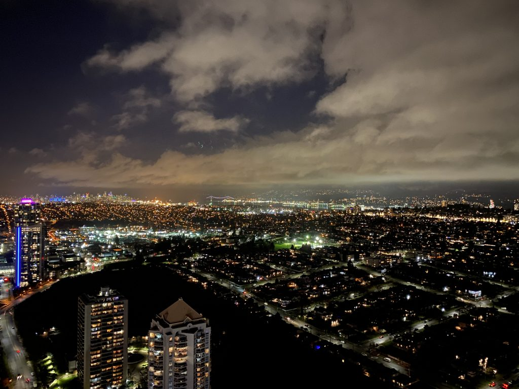 Amazing Brentwood Night view